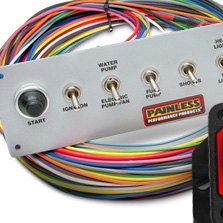 Painless Perfomance® - 8 Switch Pro Street Toggle Switch Panel