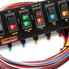 painless perfomance® - rocker switch panel for extreme condition harness