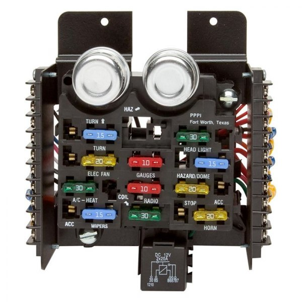 Fuse Block Assembly Use This 14 Circuit Oem Style Pre Wired Fuse Block