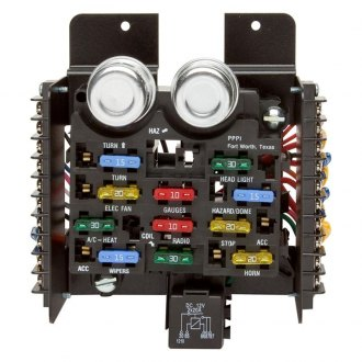 Painless Performance® - Style Pre-Wired Fuse Block