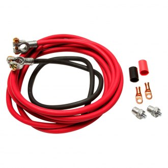 Painless Performance® - Battery Cable Kit, 16' Red & 3' Black Cables