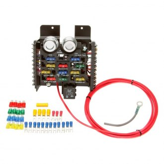 Painless Performance® - Race/Pro Street Pre-Wired 16 Circuit Fuse Block