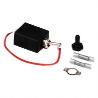 Painless Performance® - Waterproof Toggle Switch, On/Off/On, Double Pole, 20 Amp with Boot and Connectors