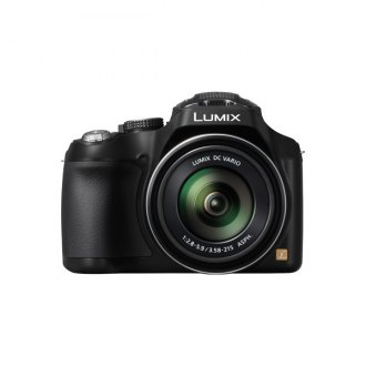 Panasonic® - LUMIX 16.1 MP 60X Zoom Digital Camera Black