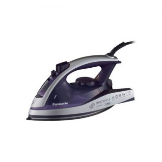 Panasonic® - 360° Quick™ Multi-Directional Steam/Dry Iron with Curved Alumite Soleplate