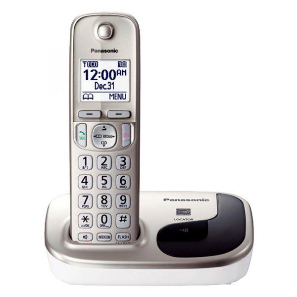 expandable digital cordless phone with 3 handsets