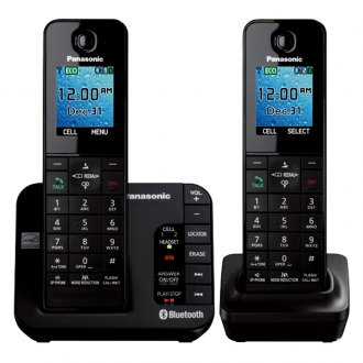 Panasonic® - Duo Cordless Phone