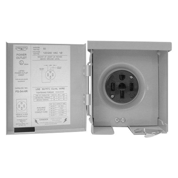 Parallax 174 Cesmps54hr 50 Amp Outdoor Power Outlet