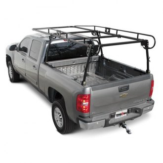 Paramount Automotive® - Work Force™ Black Light Duty Full Size Contractors Rack