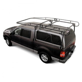 Paramount® - Work Force™ Black Full Size Camper Shell Contractors Rack