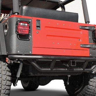 Paramount® - Off Road™ Rock Crawler Tubular Rear Bumper (w/o Tire Carrier)
