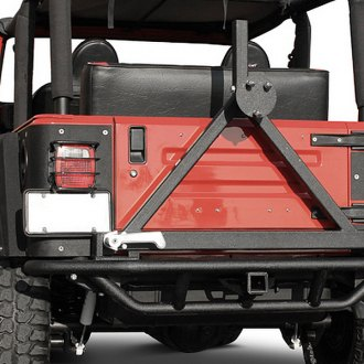 Paramount® - Off Road™ Rock Crawler Tubular Rear Bumper (with Tire Carrier)