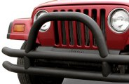 Paramount® - Off Road™ Fat Tubular Front Bumper with Hoop