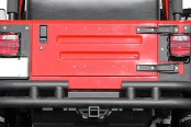 Paramount® - Off Road™ Fat Tubular Rear Bumper (w/o Tire Carrier)