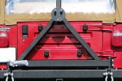 Paramount Automotive® - Off Road™ Black Classic Rear Bumper