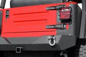 Paramount® - Off Road™ Heavy Duty Rock Crawler Rear Bumper (w/o Tire Carrier)