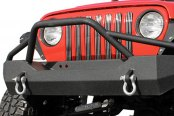 Paramount® - Off Road™ Heavy Duty Rock Crawler Front Bumper (with Light Guard)