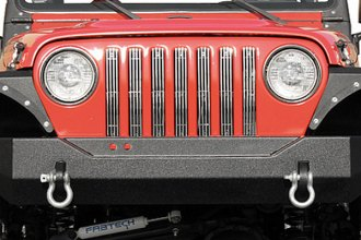 Paramount® - Off Road™ Rock Crawler Heavy Duty Black Classic Front Bumper