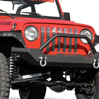 Paramount® - Off Road™ Rock Crawler Heavy Duty Black Front Bumper