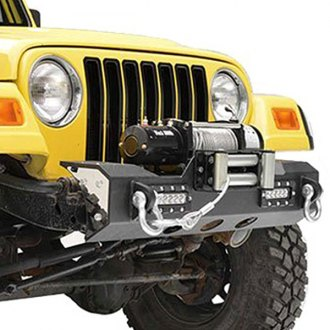 Paramount® - Off Road™ MOD Front Black Steel Bumper