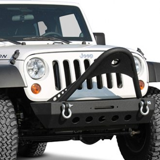 Paramount® - Xtreme Stubby Front HD Winch Bumper with Stinger