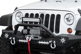 Paramount® 51-0308L - Off Road™ Heavy Duty Rock Crawler Front Bumper With LED Lights