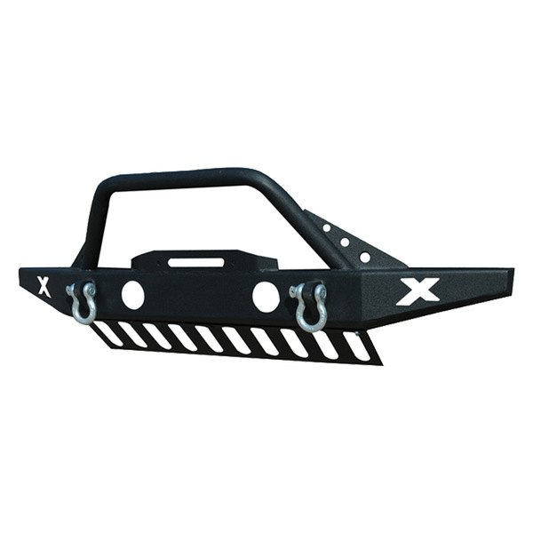 Paramount Automotive® - Off Road™ Rock Crawler Sport Black Front Bumper