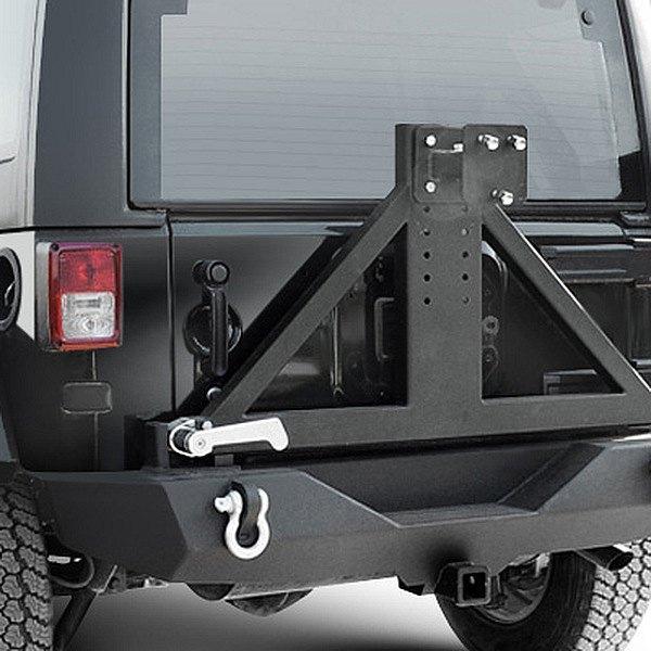 Paramount Automotive® - Off Road™ Rock Crawler Heavy Duty Black Rear Bumper