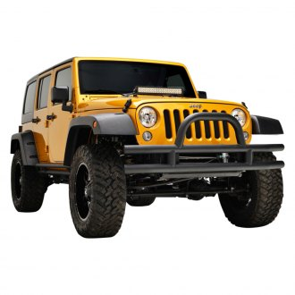 Paramount® - Off Road™ Xtreme Crawler Classic Fat Tubular Black Front Bumper
