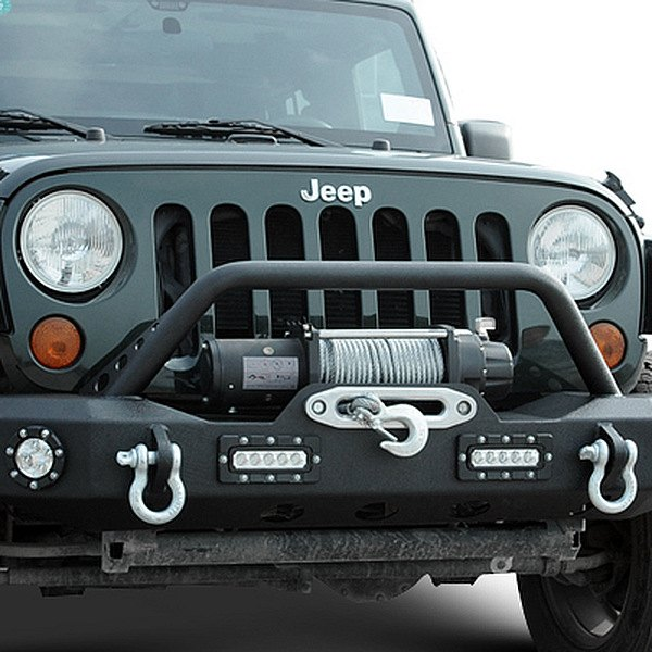 Paramount Automotive® - Off Road™ Black Front Bumper