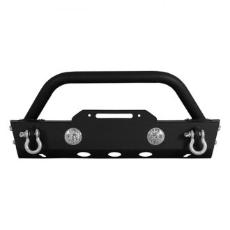 Paramount® - Off Road™ Stubby Black Front Bumper