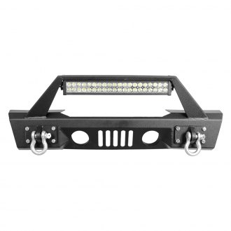 Paramount® - Stubby Black Front Bumper