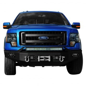 Paramount® - Off Road™ Full Width Front HD Winch Bumper with Hoop