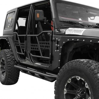 Paramount® - Off Road™ Tubular Black Steel Safari Doors