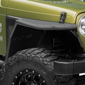 Paramount® - Off Road™ Black Steel Fenders with Flare