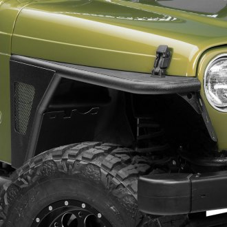 Paramount® - Off Road™ Black Steel Fenders