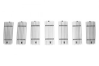 Paramount Automotive® - Restyling™ 7-Pc Polished Vertical Billet Main Grille