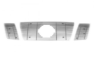 Paramount® - Restyling™ 3-Pc Polished Horizontal Billet Main Grille