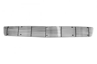 Paramount® - Restyling™ 2-Pc Polished Horizontal Billet Bumper Grille