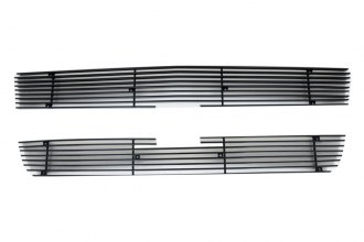Paramount® - Restyling™ 2-Pc Black Horizontal Billet Main Grille