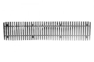 Paramount Automotive® - Restyling™ 1-Pc Polished Vertical Billet Bumper Grille