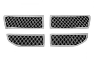 Paramount® - Restyling™ 4-Pc Chrome Perimeter Wire Mesh Main Grille