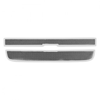Paramount® - Restyling™ 2-Pc Chrome Perimeter Wire Mesh Main Grille