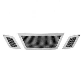 Paramount® - Restyling™ 3-Pc Chrome Perimeter Wire Mesh Main Grille