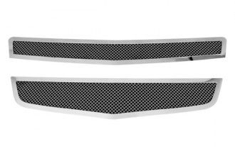 Paramount Automotive® - Restyling™ 2-Pc Chrome Perimeter Wire Mesh Main Grille