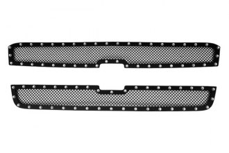 Paramount® - Restyling™ 2-Pc Evolution Black Wire Mesh Main Grille