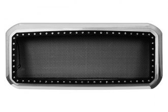 Paramount® - Restyling™ Revolution Black Wire Mesh Grille with LEDs
