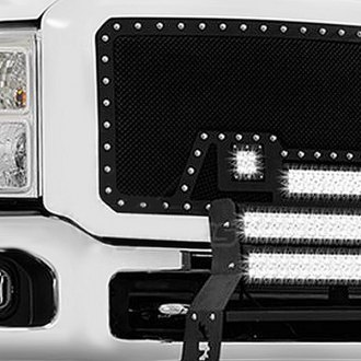 Paramount® - LED Evolution Black Mesh Grilles
