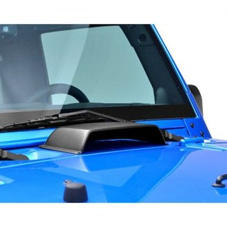 Jeep Wrangler Custom Hoods Carbon Fiber Fiberglass