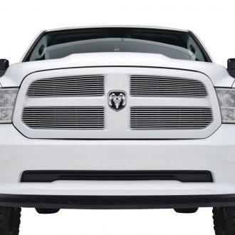 Paramount® - 4-Pc Restyling™ Polished 4mm Horizontal Billet Main Grille